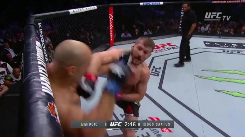 Все досрочные победы Стипе Миочича в UFC