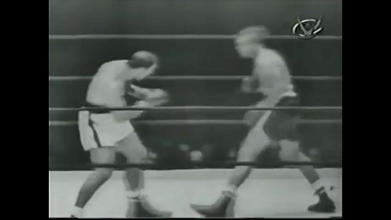 Арчи Мур vs Рокки Марчиано (полный бой) [21.09.1955]