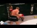 Удар коленом в грудь от Шлеменко.