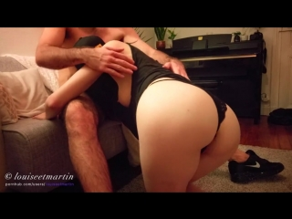 Louiseetmartin - skinny louise with big ass being fucked on the couch by her boyfriend [pornhub.com]