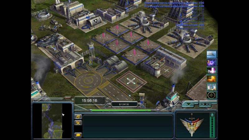 Command conquer generals zero hour contra 007 final - Мод ( Grigz)