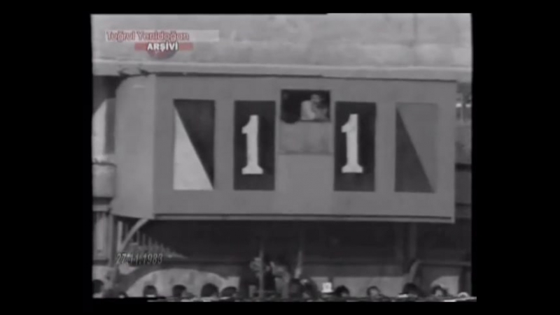 Lig Özetleri - 1983 - 1984 Sezonu - 13 Hafta - Beşiktaş 2-1 Galatasaray