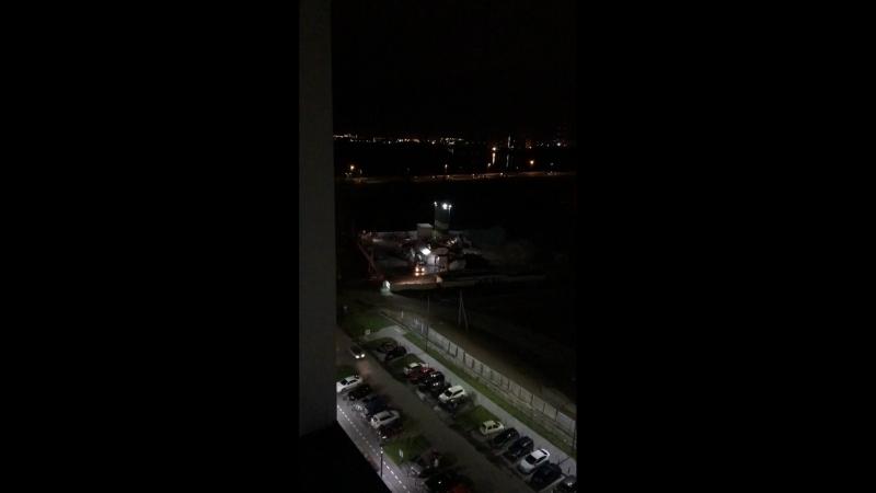 00:01 Ночь, шум от завода Эрвье 32