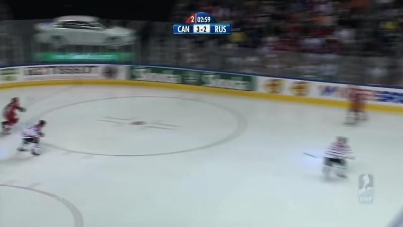 Канада - Россия 4 - 5. Чемпионат Мира по хоккею 2008. Ф.mp4
