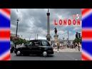 LONDON 5 Художественная галерея Трафальгарская площадь Букингемский дворец АДСКАЯ ЖАРА