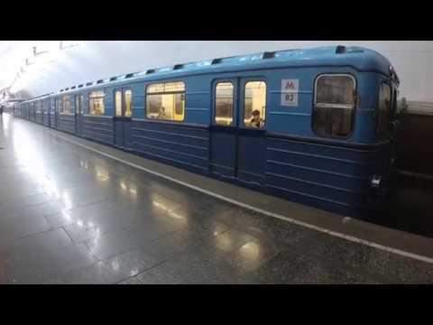 Парадный Еж-3/Ем508т. Парад поездов Московского метрополитена 2018
