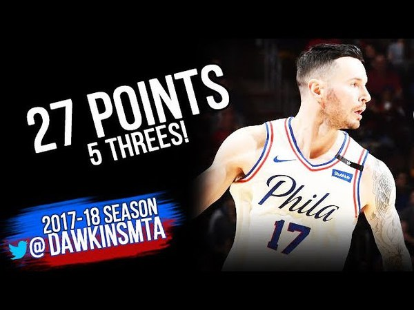 JJ Redick Full Highlights 2018 ECR1 Game 5 Philadelphia 76ers vs Miami Heat - 27 Pts | FreeDawkins
