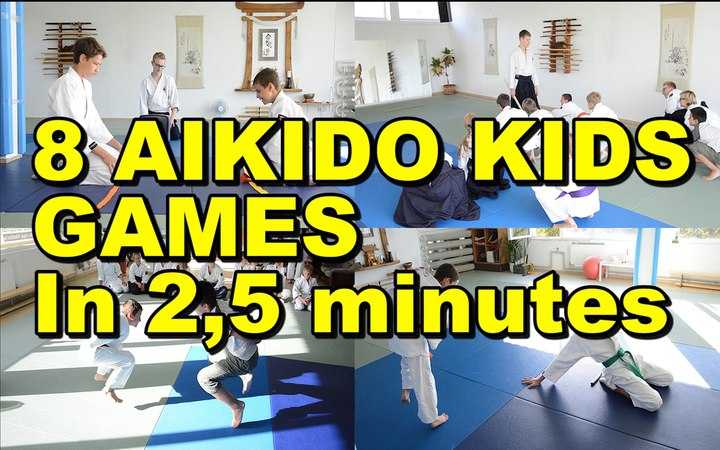 [Aikido Special] 8 Different Games For Aikido Kids