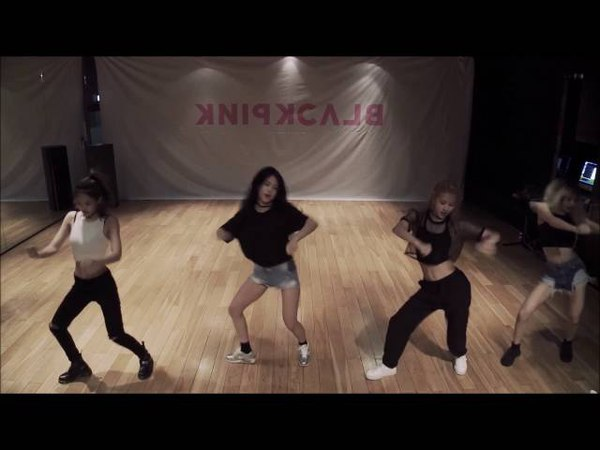 BLACK PINK- WHISTLE DANCE PRACTICE MIRRORED