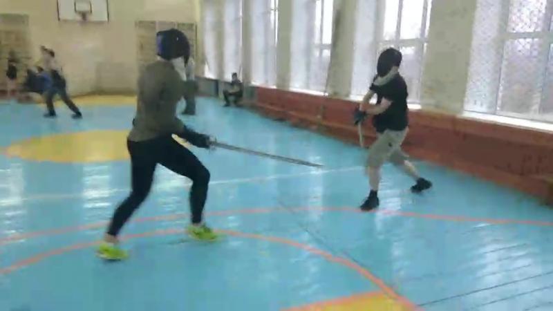 Тренировка. Фехтование. СКИФ