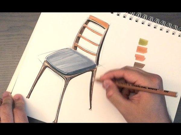 Design Sketching How to draw a chair Surprise