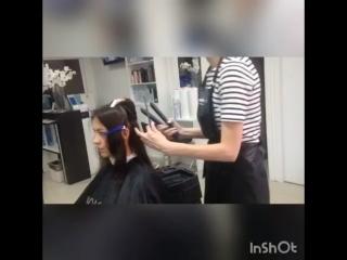Ботокс для волос от Tahe effecto Botox magic