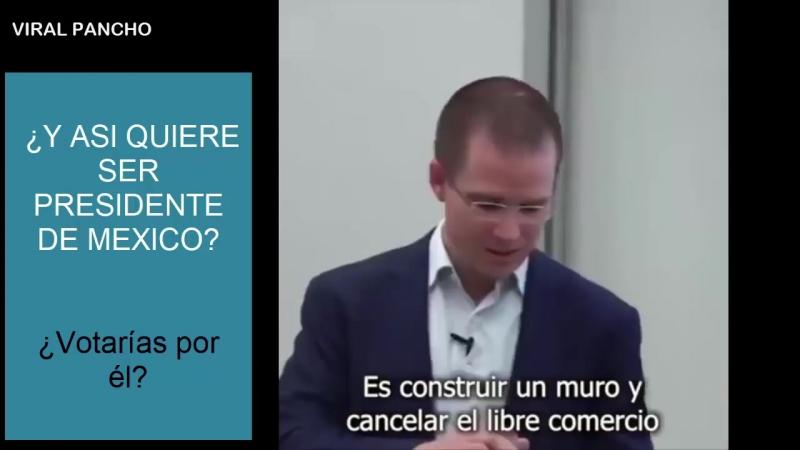 Mira lo que dijo de los Mexicanos en USA Ricardo Anaya, CABR