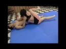 Mixed wrestling interracial