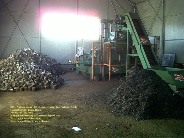 BM-LTI-110 Chips briquetting presses - Presa de brichetat span 110 m diametru