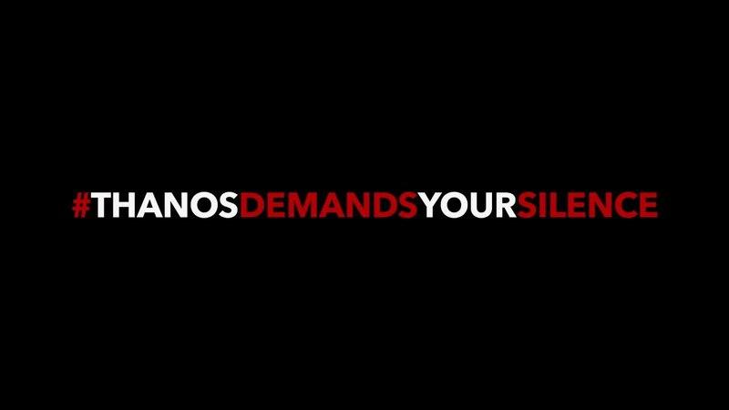 PSA Say No to Spoilers | Marvel Studios Avengers Infinity War