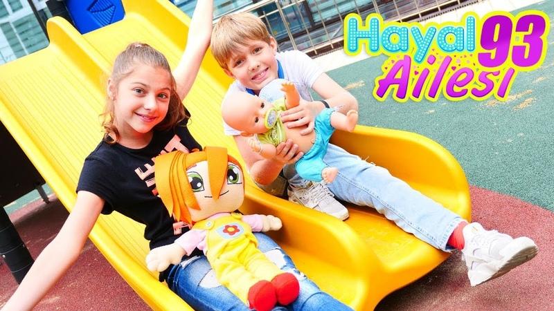 Hayal Ailesi. Oyun parkta eğlence zamanı! Çocuk dizisi.