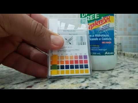 Cuidando das LENTES DE CONTATO e seu pH