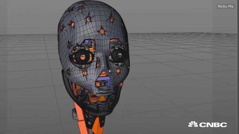 Meet Life-Sized Humanoid Robot Mark 1 - CNBC