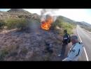 💪 Suzuki Hayabusa в огне 🔥 Зачем тушить если хорошо горит 😯