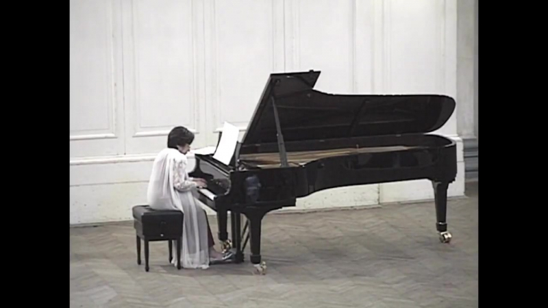 Rosalyn Tureck Bach recital in St. Petersburg (1995 complete version)