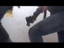 бандиты пытаются взять в плен офицера Башара Асада