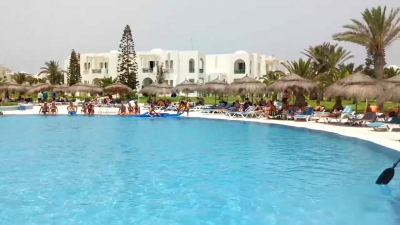 Тунис остров Джерба июль 2018. Vincci helios djerba