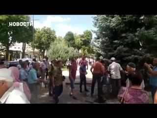 Жёсткие протесты в Крыму (18+)