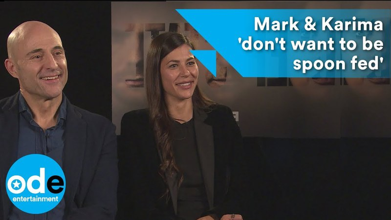 DEEP STATE Mark Strong Karima McAdams 'don't want to be spoon fed'