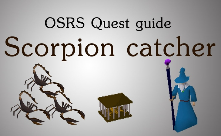 [ Scorpion Catcher quest ] - vk.com/runescape_ru