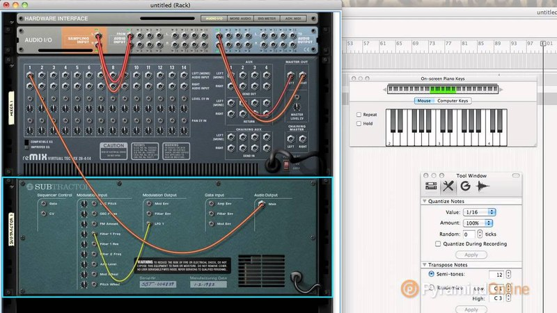 Reason | Learn how to use CV Control - Part 1 | Pyramind