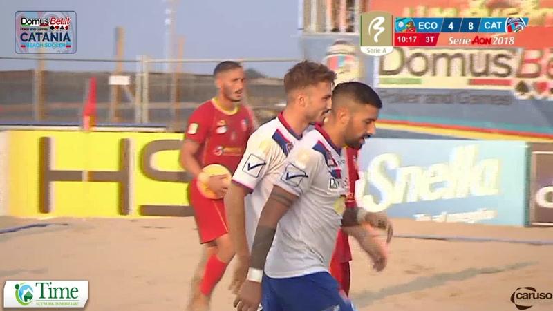 HIGHLIGHTS Semifinale scudetto 2018 DomusBet Catania VS Catanzaro Bs