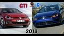 VW Golf MK7 GIT VS MK7 R 2018