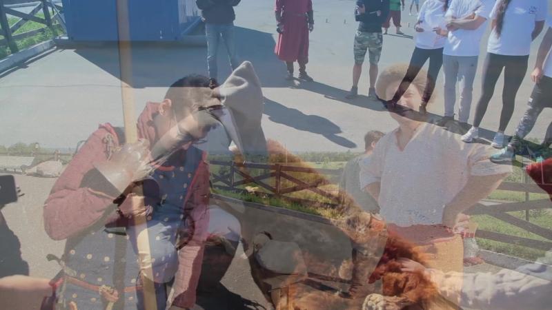 V профсоюзный этно-фестиваль Древнерусские игры среди работников ООО Газпром трансгаз Ухта 2018 г.
