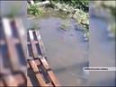 На улице Кемеровской в Уфе появилась искусственная река