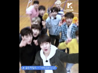[VK] 180218 Golden Child - It's U @ [Self Cam] Idol Certificate Center