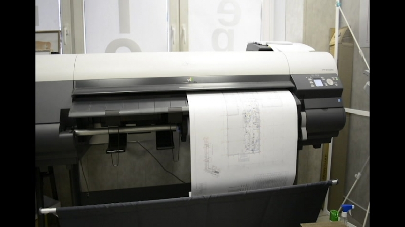 Печать чертежей А1