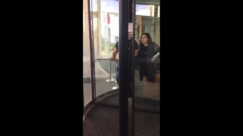 VIDEO l Lauren at the hotel in Santiago via @writeonmyfAce