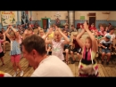 Мы маленькие дети массовый танец на летнем отчётном концерте славыневского СДК 27.07.18г. Видеооператор Владимир Смелов