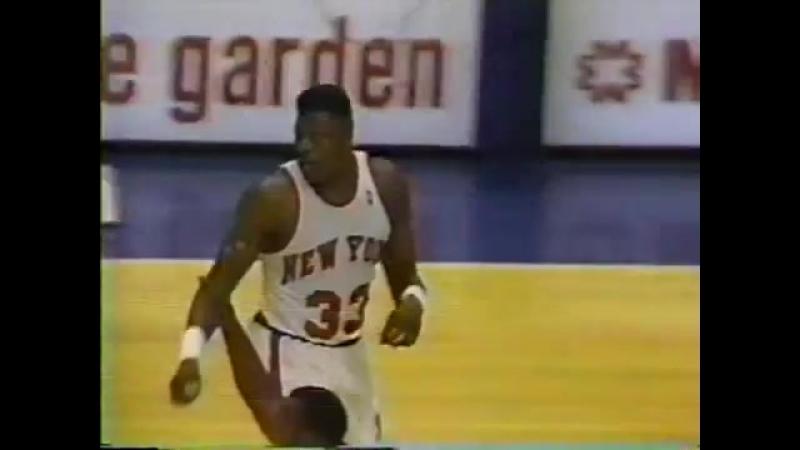 1990 New York Knicks - Boston Celtics - 24 Mart (Partick Ewing 51 sayı)
