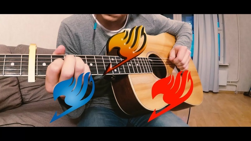 3 Best Fairy tail openings on acoustic guitar ( fingerstyle )