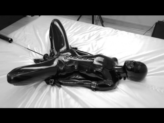 Rd black latex and bed 2