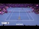 Теннис. WTA. Доха. Хард 2018 Возняцки Каролин - Кербер Анжелика 21 76, 16, 63