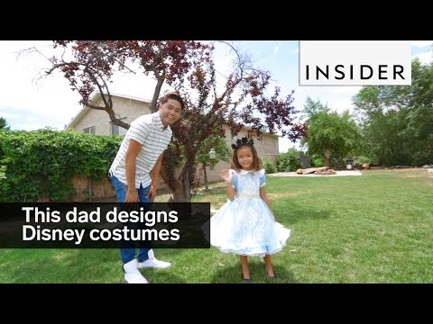 This dad designs the most adorable Disney costumes for his kids