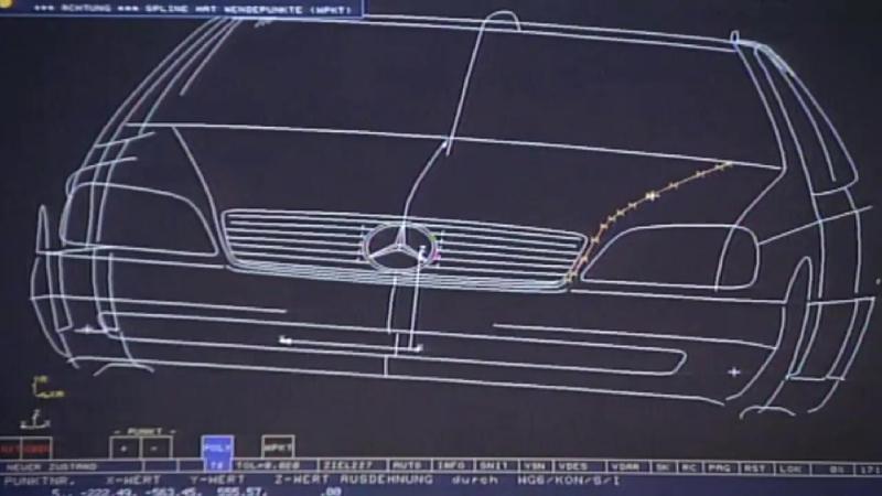 Мерседес W140-история создания легенды. 🚗 Mercedes W140-the history of the lege