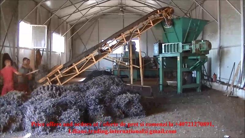 DSSH-LTI-30 Iron chips shredder - Shredder span - Sinc Nations Group Liliane Trading Int