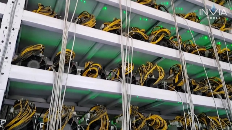 INVIA World - Mining farms in China (visited by European Leaders)