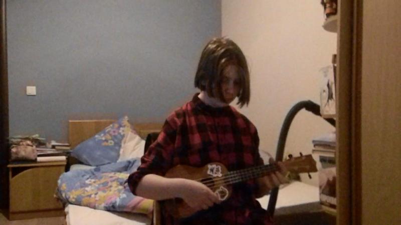 Imagine Dragons - Radioactive (cover on ukulele: припев)