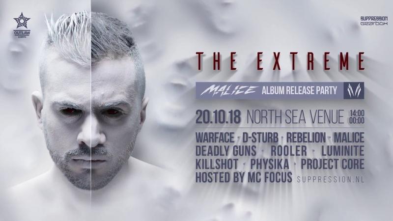 The Extreme - Malice Album Trailer (Gearbox Digital Suppression)
