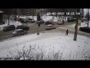 В Петрозаводске пожарная машина протаранила легковушку